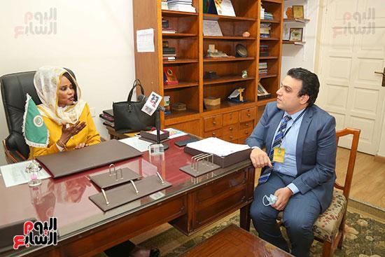 مها بخيت مدير الملكية الفكرية بـالجامعة العربية (10)