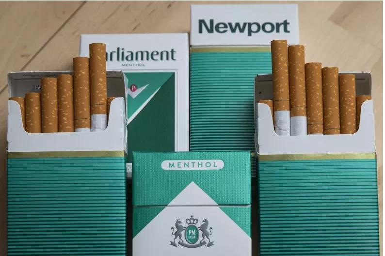 حظر بيع سجائر المنثول بالولايات المتحدة