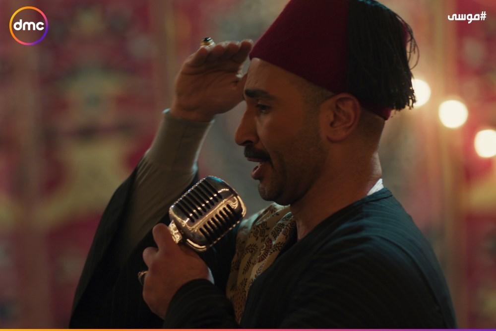 فرح محمد رمضان وسمية الخشاب فى مسلسل موسى (3)