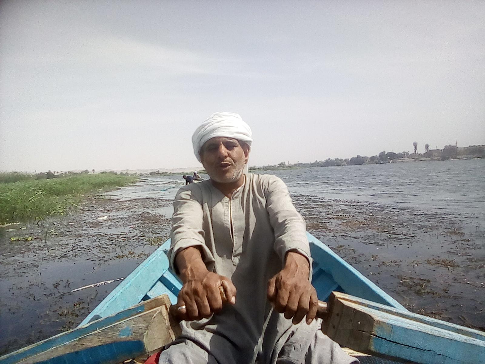رجب عوض صياد فى المنيا (5)