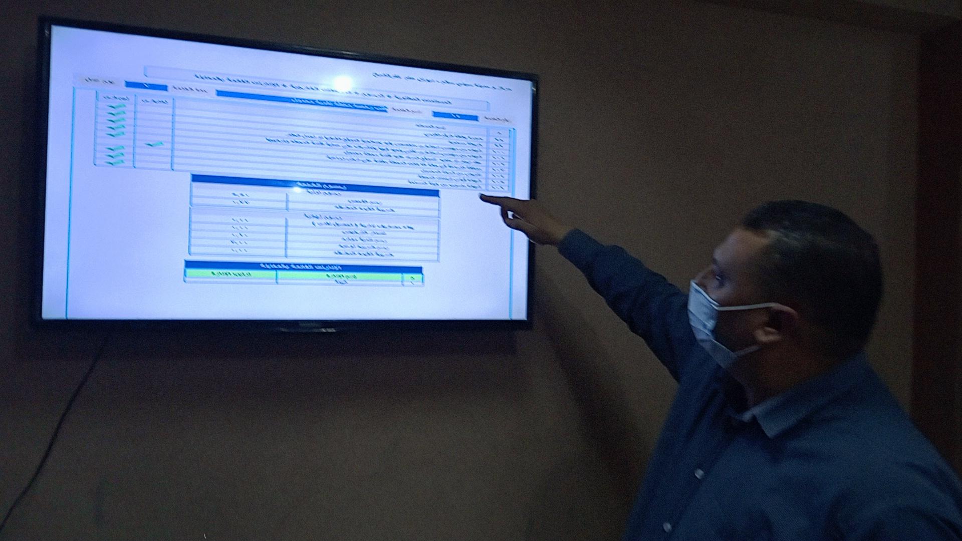 لافتة توضح بيانات الضوابط والاشتراطات التخطيطية والبنائية الجديدة