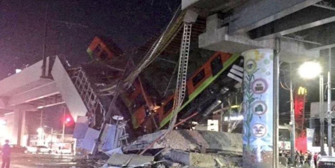 حادث سقوط القطار المعلق