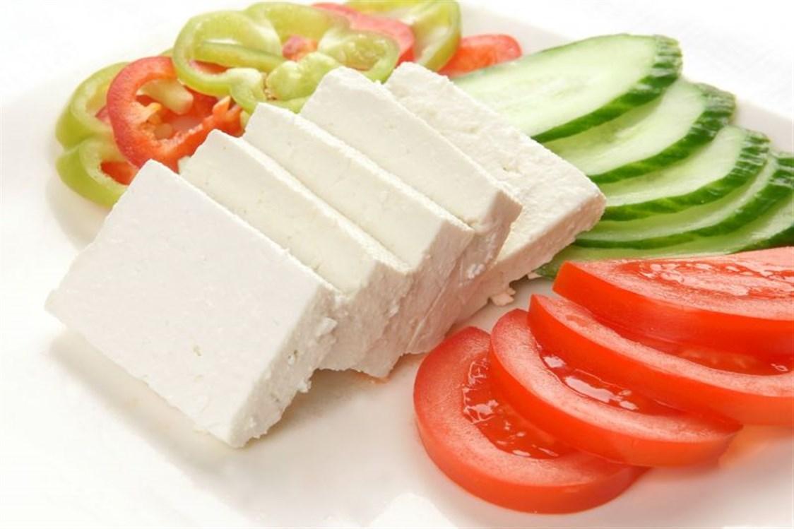 جبنة بالخضراوات