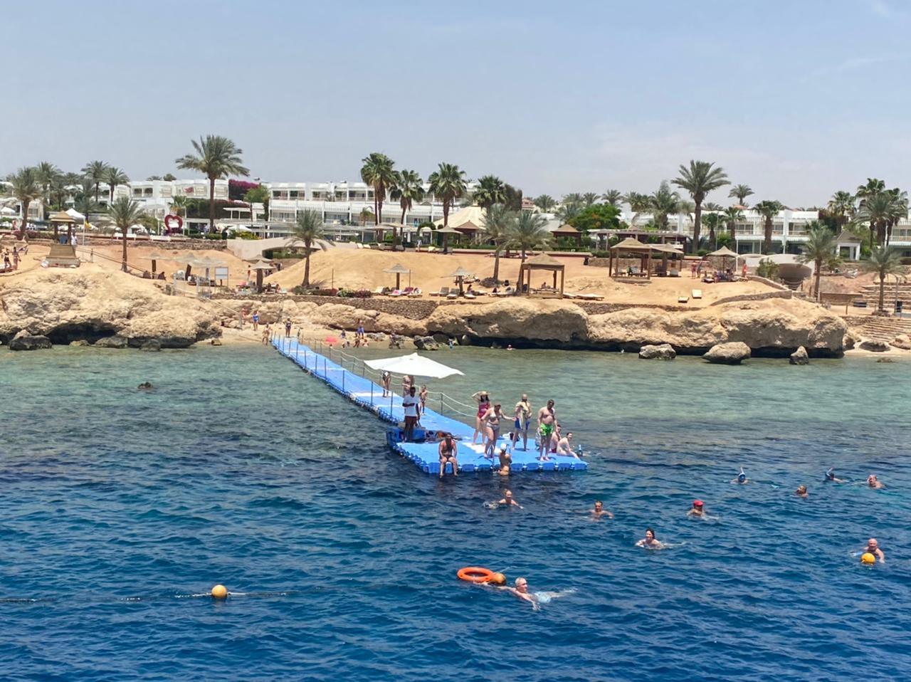 السياحة تعود بقوة لشرم الشيخ.