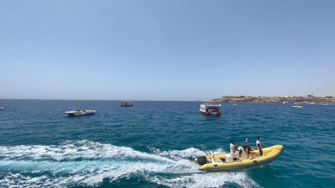 السياحة تعود بقوة لشرم الشيخ