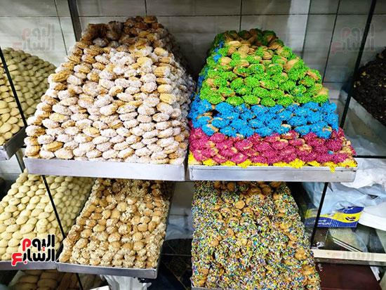 كحك-العيد-فى-فاترينات-المحلات