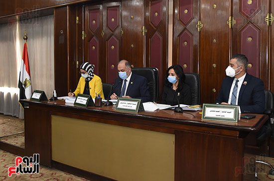 اجتماع لجنة التضامن الاجتماعى والأسرة بمجلس النواب برئاسة الدكتور عبد الهادى القصبى  (1)
