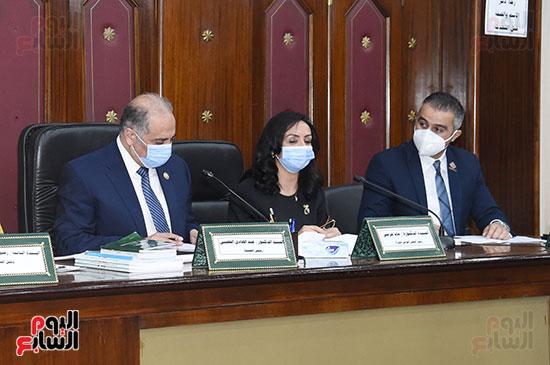اجتماع لجنة التضامن الاجتماعى والأسرة بمجلس النواب برئاسة الدكتور عبد الهادى القصبى  (9)