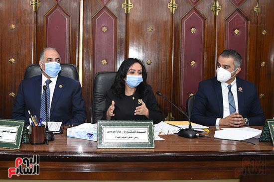 اجتماع لجنة التضامن الاجتماعى والأسرة بمجلس النواب برئاسة الدكتور عبد الهادى القصبى  (5)