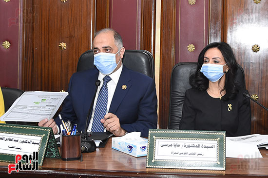 اجتماع لجنة التضامن الاجتماعى والأسرة بمجلس النواب برئاسة الدكتور عبد الهادى القصبى  (4)
