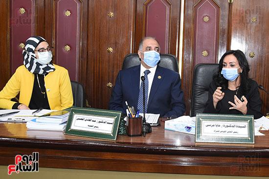 اجتماع لجنة التضامن الاجتماعى والأسرة بمجلس النواب برئاسة الدكتور عبد الهادى القصبى  (6)
