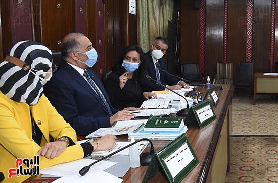 اجتماع لجنة التضامن الاجتماعى والأسرة بمجلس النواب برئاسة الدكتور عبد الهادى القصبى  (7)