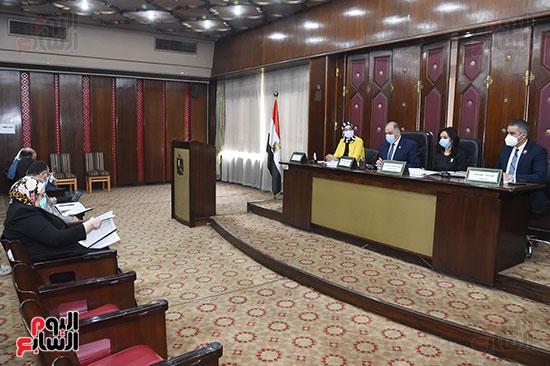 اجتماع لجنة التضامن الاجتماعى والأسرة بمجلس النواب برئاسة الدكتور عبد الهادى القصبى  (2)