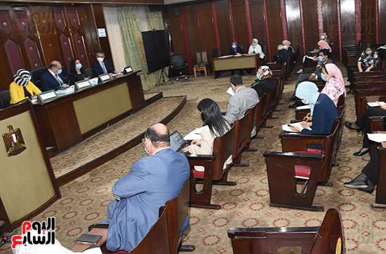 اجتماع لجنة التضامن الاجتماعى والأسرة بمجلس النواب برئاسة الدكتور عبد الهادى القصبى  (11)
