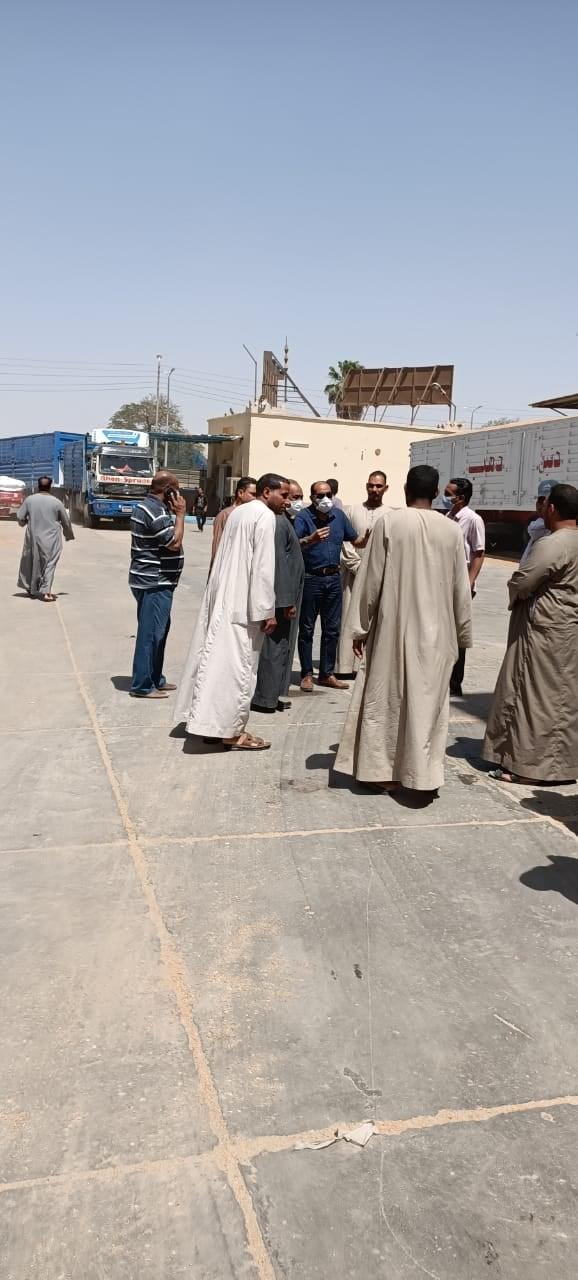 حملات وجولات فى مختلف أنحاء محافظة الأقصر