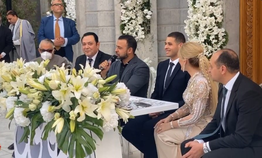 حفل زفاف نجله النائب محمد مرشدى