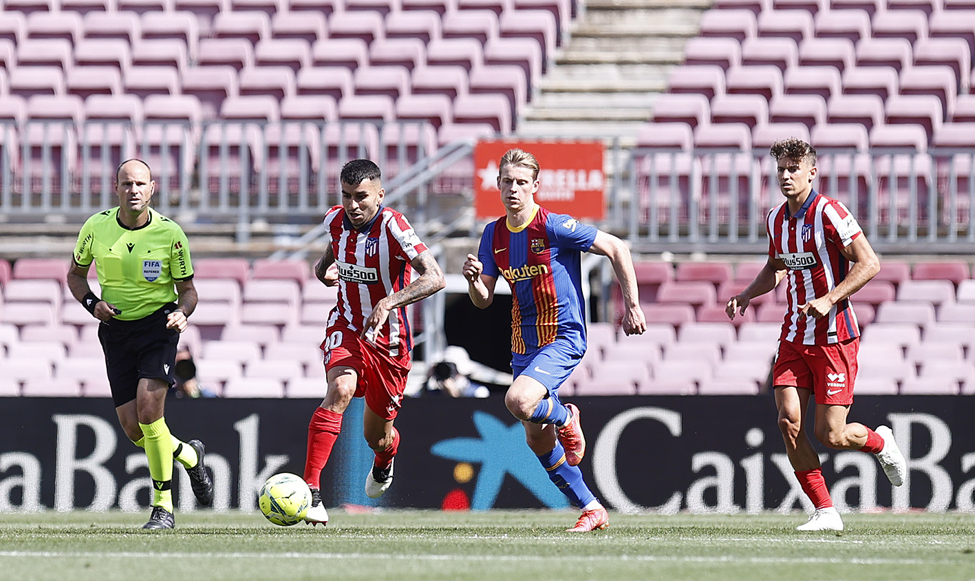 برشلونة ضد أتلتيكو مدريد (4)