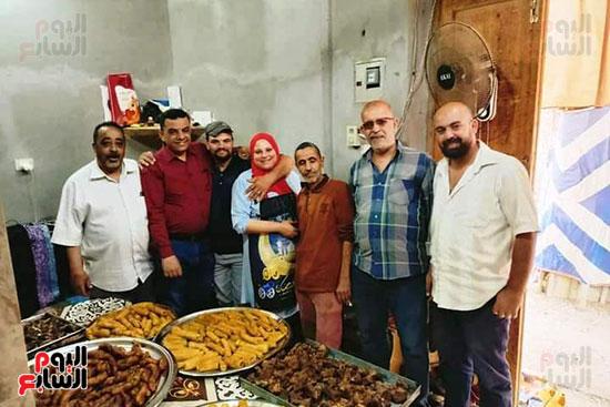مطبخ الخير فى دمياط يقدم 400 وجبة متنوعة يوميا للمتعففين ومرضى كورونا (4)