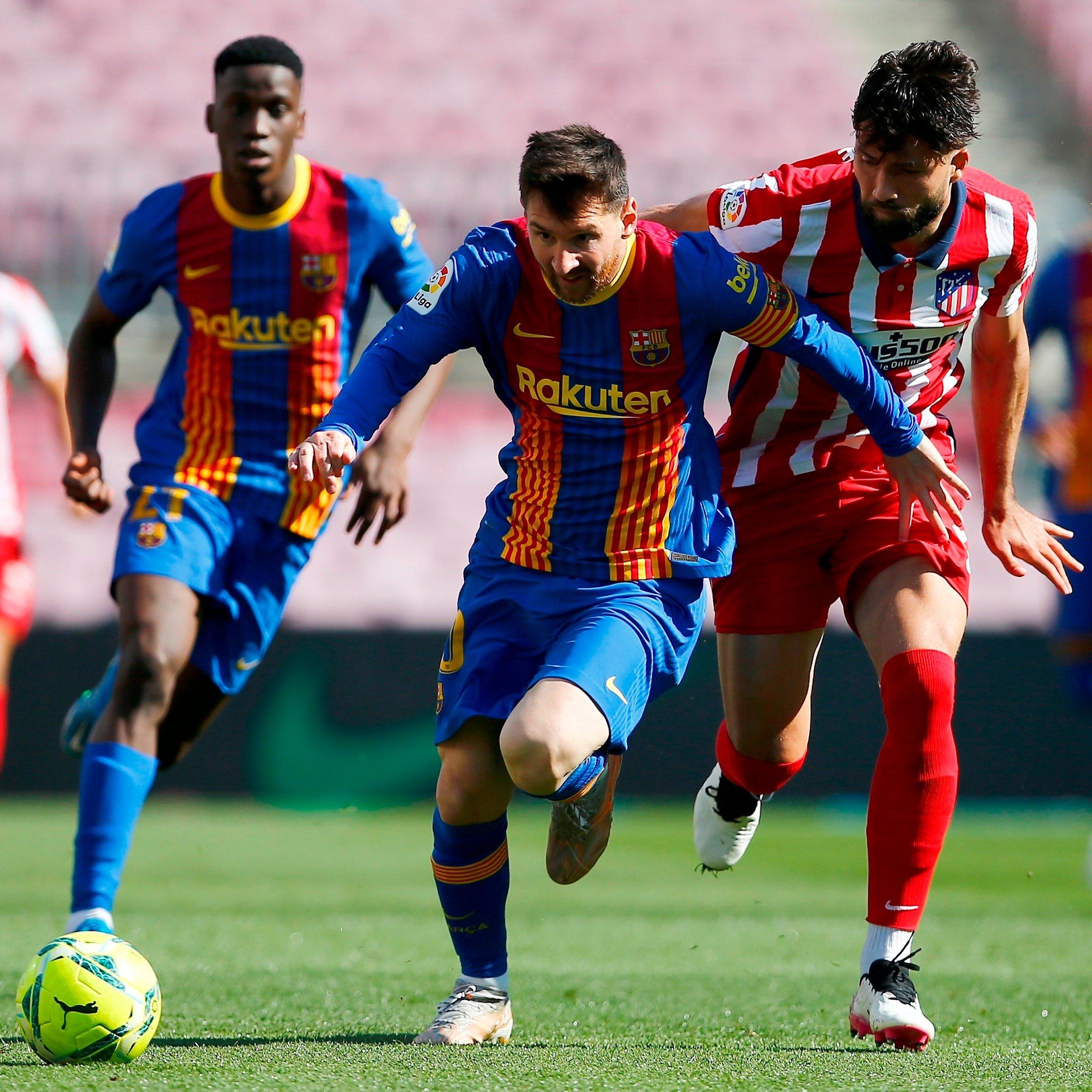 برشلونة ضد أتلتيكو مدريد (1)