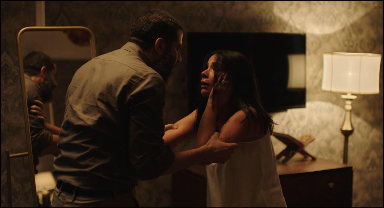 محمد فراج يصفع منى زكى على وجهها فى مسلسل لعبة نيوتن الحلقة 26