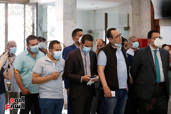 مؤتمر وزيرة الصحة هالة زايد (16)
