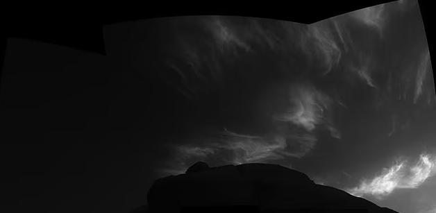 صورة سحب المريخ