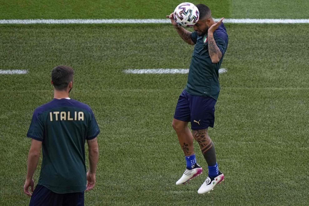 تدريبات منتخب إيطاليا
