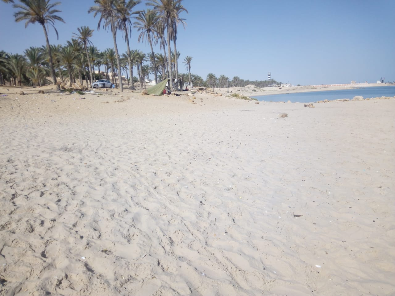 الشاطئ المستهدف