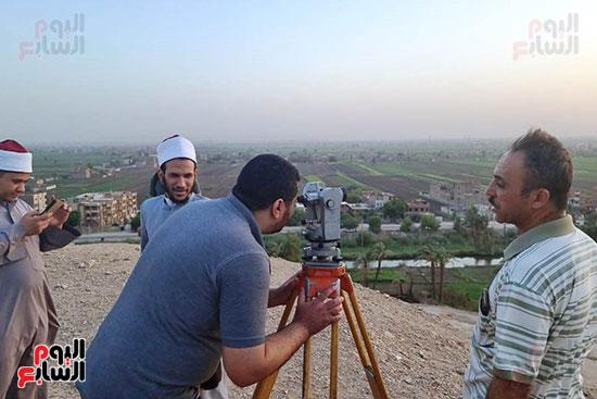 استطلاع-هلال-ذو-القعدة-من-مرصد-محافظة-سوهاج-(2)