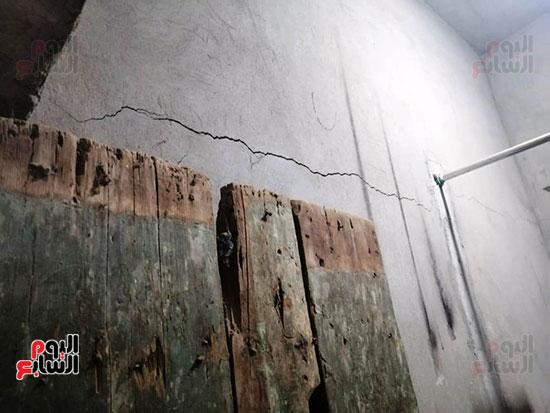 تصدعات المنازل بسبب الحفر