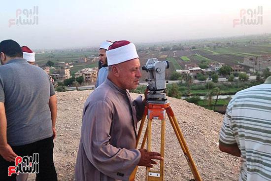 استطلاع-هلال-ذو-القعدة-من-مرصد-محافظة-سوهاج-(15)