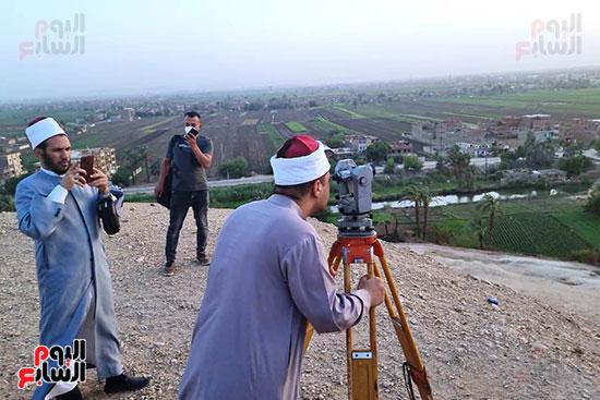 استطلاع-هلال-ذو-القعدة-من-مرصد-محافظة-سوهاج-(12)