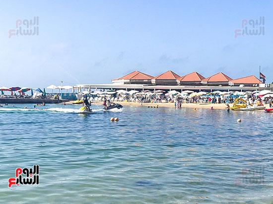 جمال شاطئ الاسكندرية