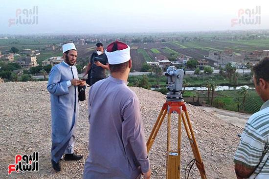 استطلاع-هلال-ذو-القعدة-من-مرصد-محافظة-سوهاج-(1)