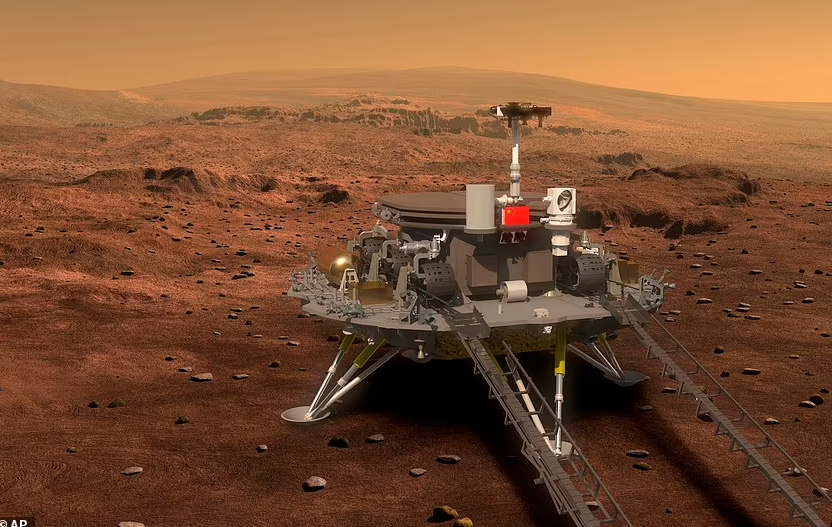 تصور مركبة الصين على المريخ
