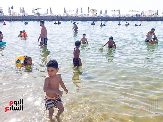المتعة والاثارة في شاطئ الاسكندرية (1)