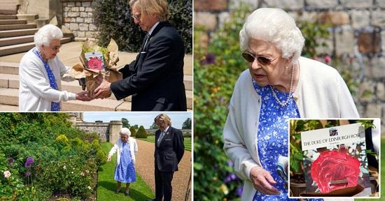 الملكة وصفت تكريم زوجها الراحل بأنه لطيف جدًا