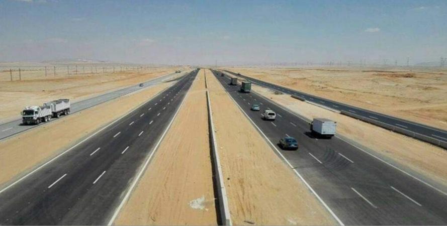 طريق السويس - القاهرة