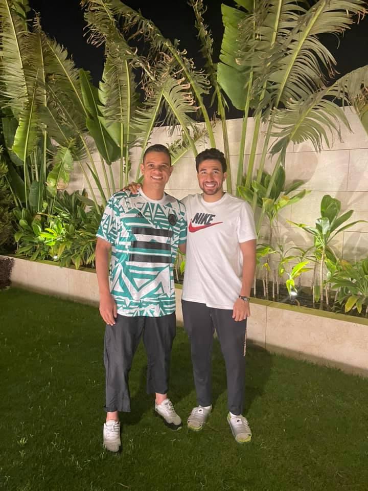 تريزيجيه مع سعد سمير
