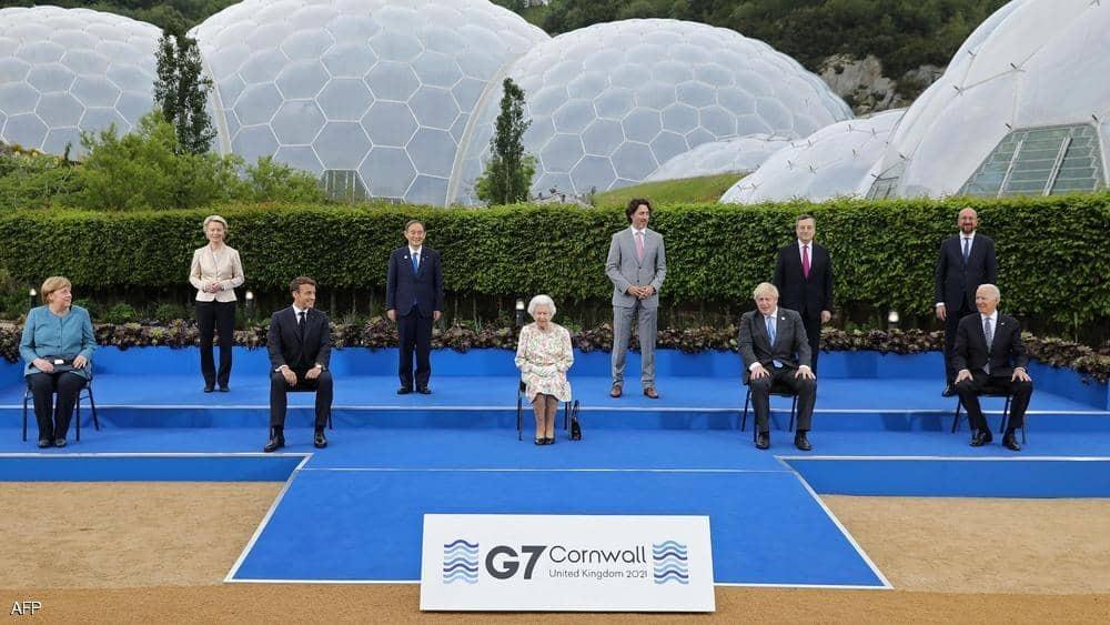 الملكة إليزابيث مع الرئيس الأمريكي