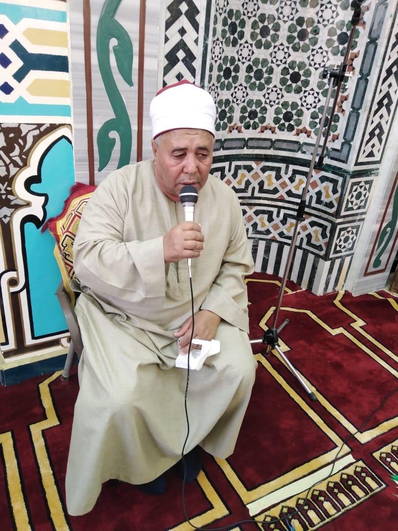 افتتاح مسجد الحساسنة فى غرب الأقصر