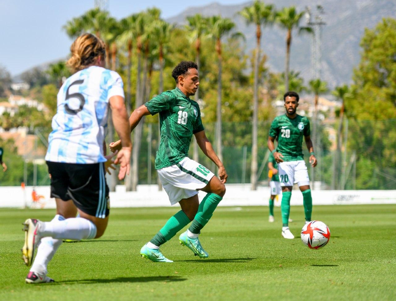 الأرجنتين ضد السعودية (5)