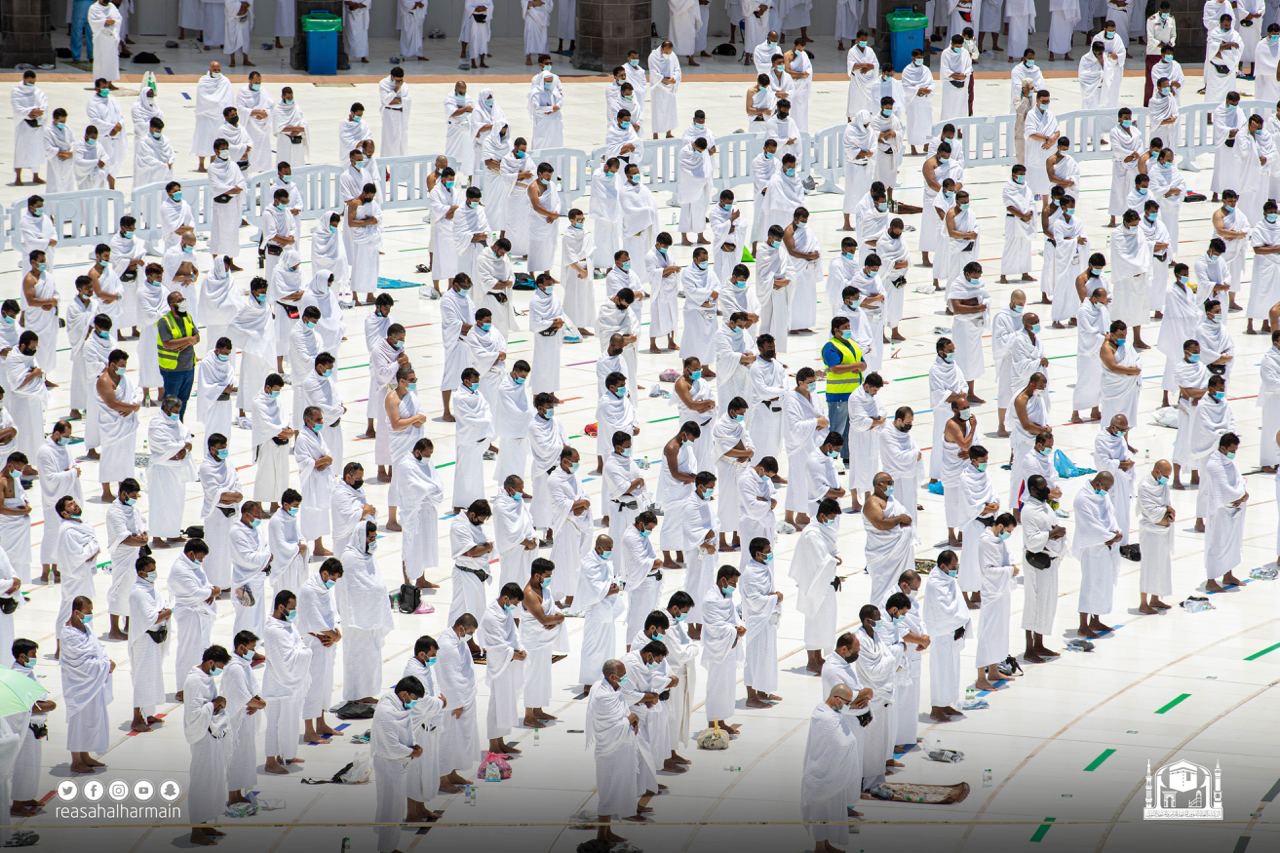 الصلاة فى المسجد الحرام - اخر جمعة من شوال