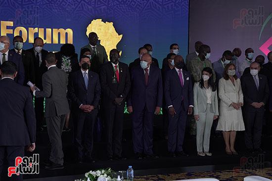 المنتدى الأول لرؤساء هيئات الاستثمار الأفريقية المنعقد بشرم الشيخ (11)