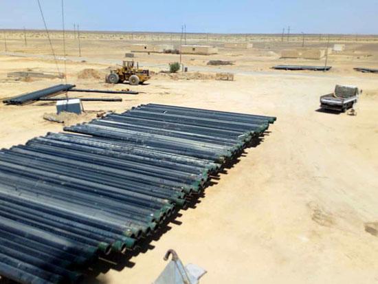 تعمير مناطق وسط سيناء