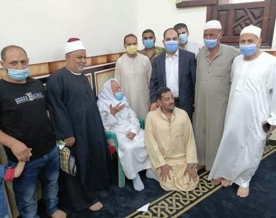 مسجد الروضة الشريفة في بنها (1)