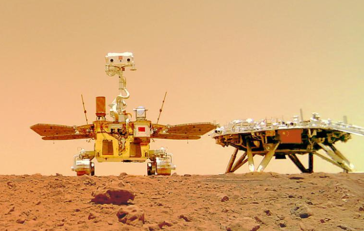 مركبة التجوال الصينية الأولى لاستكشاف المريخ