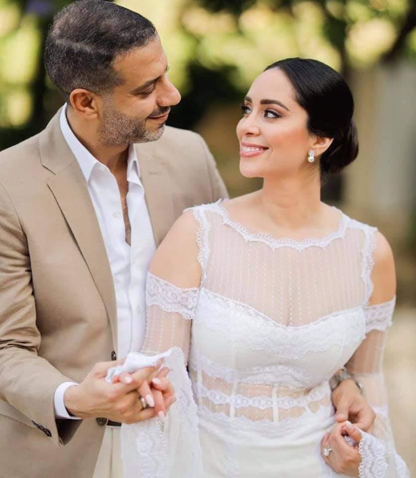 محمدفراج وبسنت شوقي