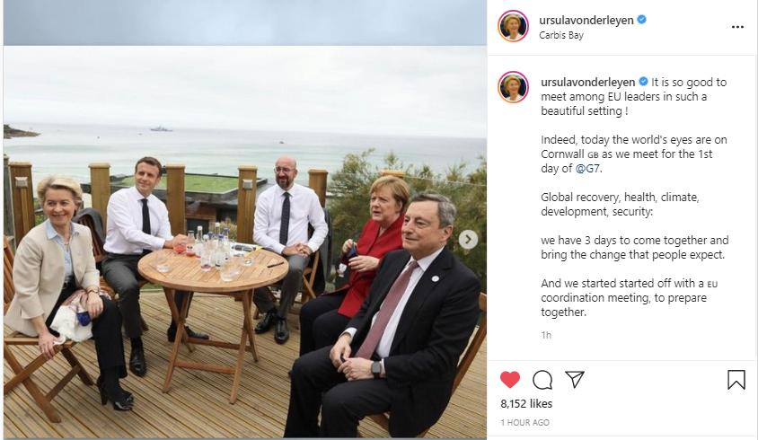 قادة الاتحاد الاوربى