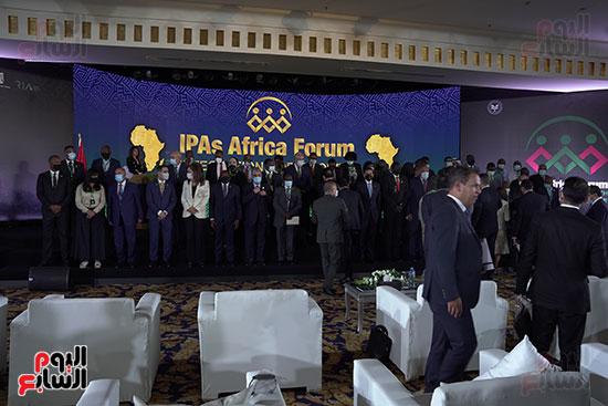 المنتدى الأول لرؤساء هيئات الاستثمار الأفريقية المنعقد بشرم الشيخ (15)